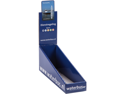 Toonbankdisplay Waterbus