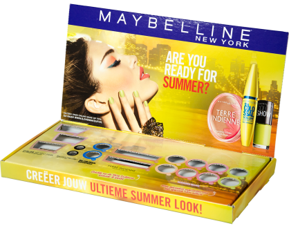 Boetiekdisplay Maybelline
