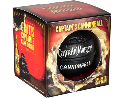 Captain Morgan cannonball