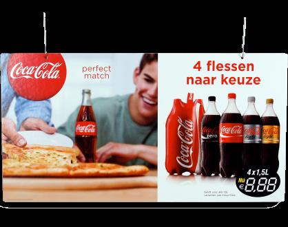Plafondhanger Coca-Cola