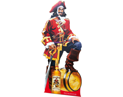 Lifesize Captain Morgan