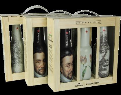 Geschenkkoffer Bierflesjes