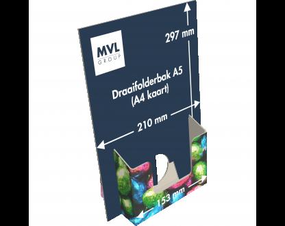 Draaifolderbak A5 (A4 kaart)