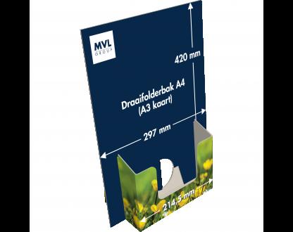 Draaifolderbak A4 (A3 kaart)