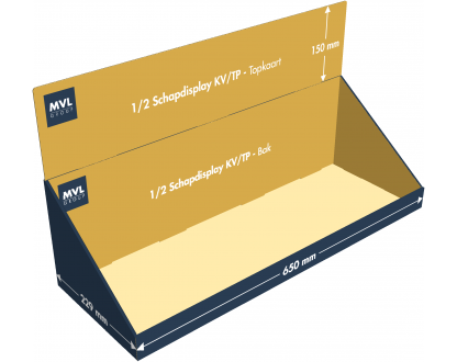 1/2 Schapdisplay KV/TP