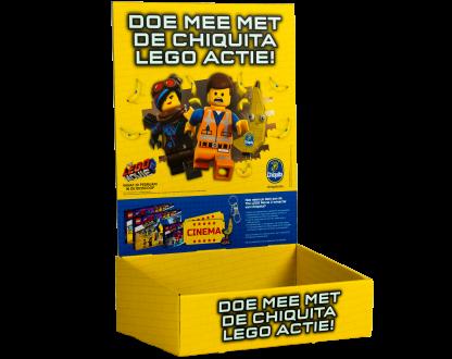 Toonbankdisplay Chiquita Lego